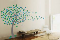 30 Beautiful Wall Art Ideas and DIY Wall Paintings for your inspiration | Read full article: http://webneel.com/wall-art-ideas-diy-wall-paintings | more http://webneel.com/drawings | Follow us www.pinterest.com/webneel