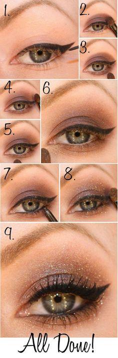 Top 10 Gorgeous Night Eye Makeup Tutorials!