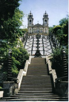 Bom Jesus do Monte - Braga - (Portugal)