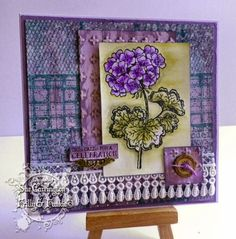 Frilly and Funkie: Friday Focus - Wendy Vecchi stamps