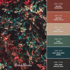 Color Palette For Home, Hex Color Palette, Color Schemes Colour Palettes, Color Combos, Rust Color Schemes, Coperate Design, Dark Blue Green, Deep Blue, Color Stories