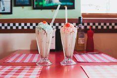 Brighton Beach and Retro American Diner Wedding: Gena  Lea