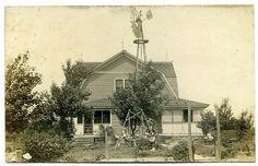 Farm House @ Dorrance Kansas |