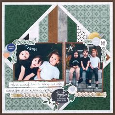 Boast a Beautiful Bond With This Family Scrapbook Layout – Creative Memories Blog