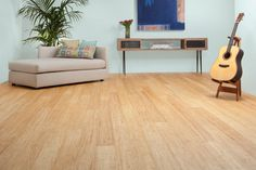 PLYBOO STILETTO FLOORING - BRUSHED SAHARA COLOR