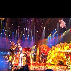 The Beatles LOVE, Cirque du Soleil, Mirage Hotel, Las Vegas, Nevada