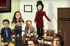 Using fictional characters to practice diagnosis of mental disorders. Funny & interesting