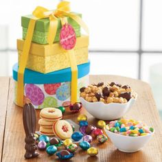 New age mama easter gift guide dcs chocolates food drinks new age mama easter gift guide easter tower of treats gift from harry david negle Choice Image