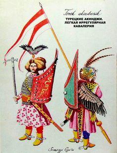 Turkish akinji - light irregular cavalry