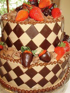 DIamond Grooms Cake