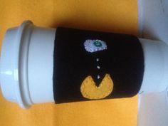 Pacman Coffee Sleeve