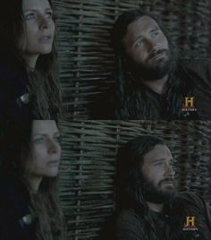Siggy and Rollo - Vikings, they make a great couple both have nothing to lose but each other!