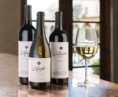 Paso Robles is a well known wine region and Allegretto Vineyard Resort wanted to introduce its own label. MOI created a comprehensive 'period' branding program that positioned Allegretto as uniquely European with California overtones. Utilizing this historical theme bespoke lettering and hand-drawn images were implemented. MOI extended the brand to accommodate a private label by combining embossing, foil stamping, and old world illustration adding branded elegance to a beautifully crafted… Private Label, Foil Stamping, Old World, White Wine, Bespoke, Hand Drawn, Period, Vineyard, Alcoholic Drinks