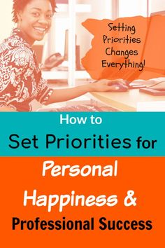 Setting priorities in life is a key to both personal happiness and professional success. Click thru to find out how to set strong personal and professional priorities. Self Development, Personal Development, How To Be A Happy Person, Dating Coach, Positive Mindset, Positive Living, Relationship Coach, Transform Your Life, Love Your Life