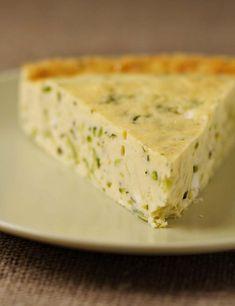 Clafoutis aux courgettes et à la feta - les meilleures recettes de cuisine d'Ôdélices