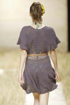 2007  Vestido Crochê.  / Dress Crochet.