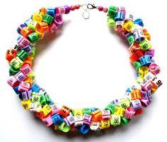 """Necklaces- """"One size!""""  www.republikaartystyczna.pl"""