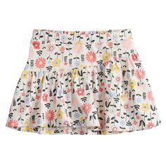 addba34ed49 Toddler Girl Jumping Beans® Printed Tiered Tulip Skort