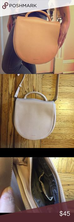 Matt and Nat vegan bag! Beautiful blush color. Gently used. Slight wear. From Spring '16 collection. Works well into Fall as well! matt and nat Bags Shoulder Bags