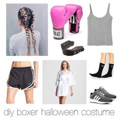diy boxer costume