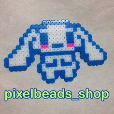 Cinnamoroll perler beads by pixelbeads_shop