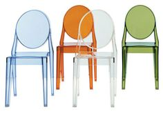 Kartell (Ghost chairs)