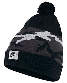 Enjoy a snug and cozy fit with these fashionable womens NSW camo pom golf  beanie skull 5a95effd81a4