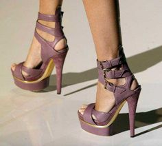 The Most Popular Shoes.. .. really love the color!  The heel is deadly!