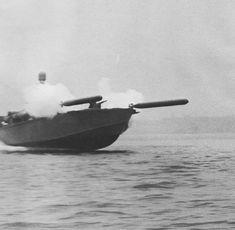 PT Boat Torpedo Rack | Mark VIII torpedoes from tubes