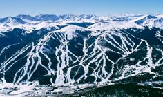 Breckenridge Ski Resort, or just Breck, is perennially one of North America's top two most visited ski resorts, and is located in Summit County, Colorado in the town of Breckenridge.