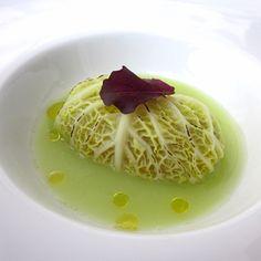 Involtino di verza al ripieno di dentice.  Leggi la ricetta: www.frescopesce.it/involtino-di-verza-al-ripieno-di-dentice