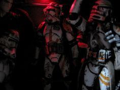 Clone Troops from the 212th Division | Artist and Publication unknown please send credits info to Optimystique1