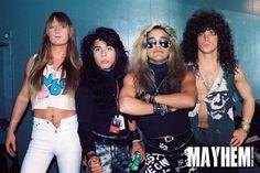 BulletBoys in San Francisco - photo by Dwayne Cavanas for Mayhem Music Magazine