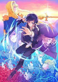 Arte Online, Kunst Online, Online Art, Eugeo Sword Art Online, Manga Anime, Sword Art Online Wallpaper, Accel World, Online Anime, Anime Kunst