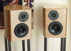 Speakers: Ellam XT, built by Robert Kettel/UK