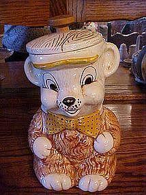 Vintage Treasure Craft bear cookie jar
