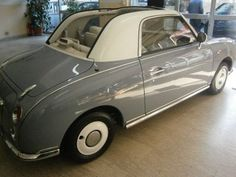 1991 #Nissan Figaro Convertibile for sale - € 12.000...well not that vintage but its cute