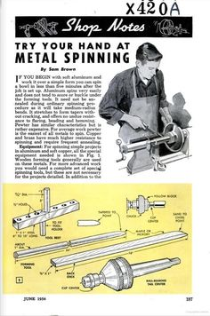spinning copper lathe - Căutare Google Lathe Tools, Wood Lathe, Welding Careers, Spinning, Metal Shaping, Metal Forming, Lathe Projects, Metal Shop, Machine Tools