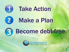 Start your new life today by becoming debt free! Don't hesitate to get started with a free case evaluation, if you are struggling with overwhelming debt. #debtfree #debthelp