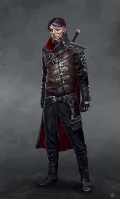 Tagged with art, drawings, fantasy, roleplay, dungeons and dragons; DnD Blood Hunter Class by Matthew Mercer - inspirational Dark Fantasy, Fantasy Male, Fantasy Warrior, Fantasy Rpg, Medieval Fantasy, Fantasy Character Design, Character Concept, Character Art, Concept Art