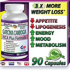 BioProWellness Weight Loss Formula Appetite Suppressant  Thermogenic Fat Burner Dr Recommended 90 Caps with Pure Garcinia Cambogia Extract 1500 mg  3000mg Daily Best Appetite Suppressor to Control Your Weight * You can find out more details at the link of the image. (Note:Amazon affiliate link) #WeightLoss Diets