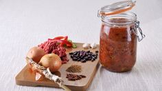 Le Parfait Ready Meal Recipe : Chili Con carne  Find recipes for readymeals, sauces and chutneys, desserts, jams and more on the website.