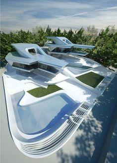 Nassim Villas Zaha Hadid