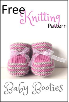 Der Neuen Stash Busting Baby Booties Free Knitting Pattern - Daisy and Storm Free knitting pattern for cute baby booties knitted flat on two needles with short rows so no picking up stitches! Free Knitting Patterns - dolls, teddy bear, washcloths and afgh Baby Booties Knitting Pattern, Knit Baby Shoes, Booties Crochet, Baby Hats Knitting, Crochet Baby Booties, Free Knitting, Baby Bootees, Baby Bootie Pattern, Baby Knitting Patterns Free Newborn