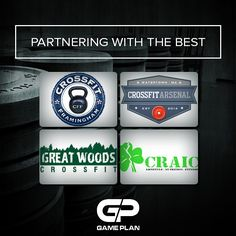 Very excited to announce these great partnerships! #whatsyourgameplan #crossfit
