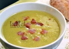 Гороховый суп с картошкой и беконом