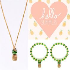 Hello summer!! #pineapples #love #fruitlicious