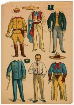 77.6967: Douglas Fairbanks | paper doll | Paper Dolls | Dolls | Online Collections | The Strong