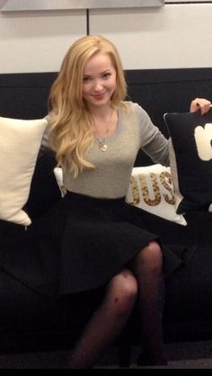 Photo: Dove Cameron Stopped To Chat With Seventeen Magazine January 14, 2014