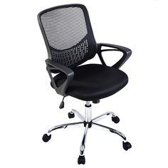 Modern Ergonomic Mesh Mid-Back Executive Computer Desk Task Office Chair